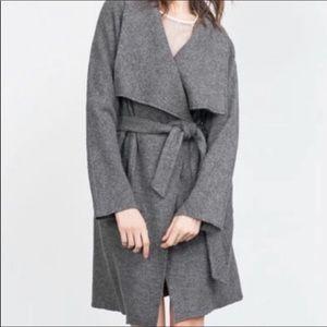 Zara wool hand made coat